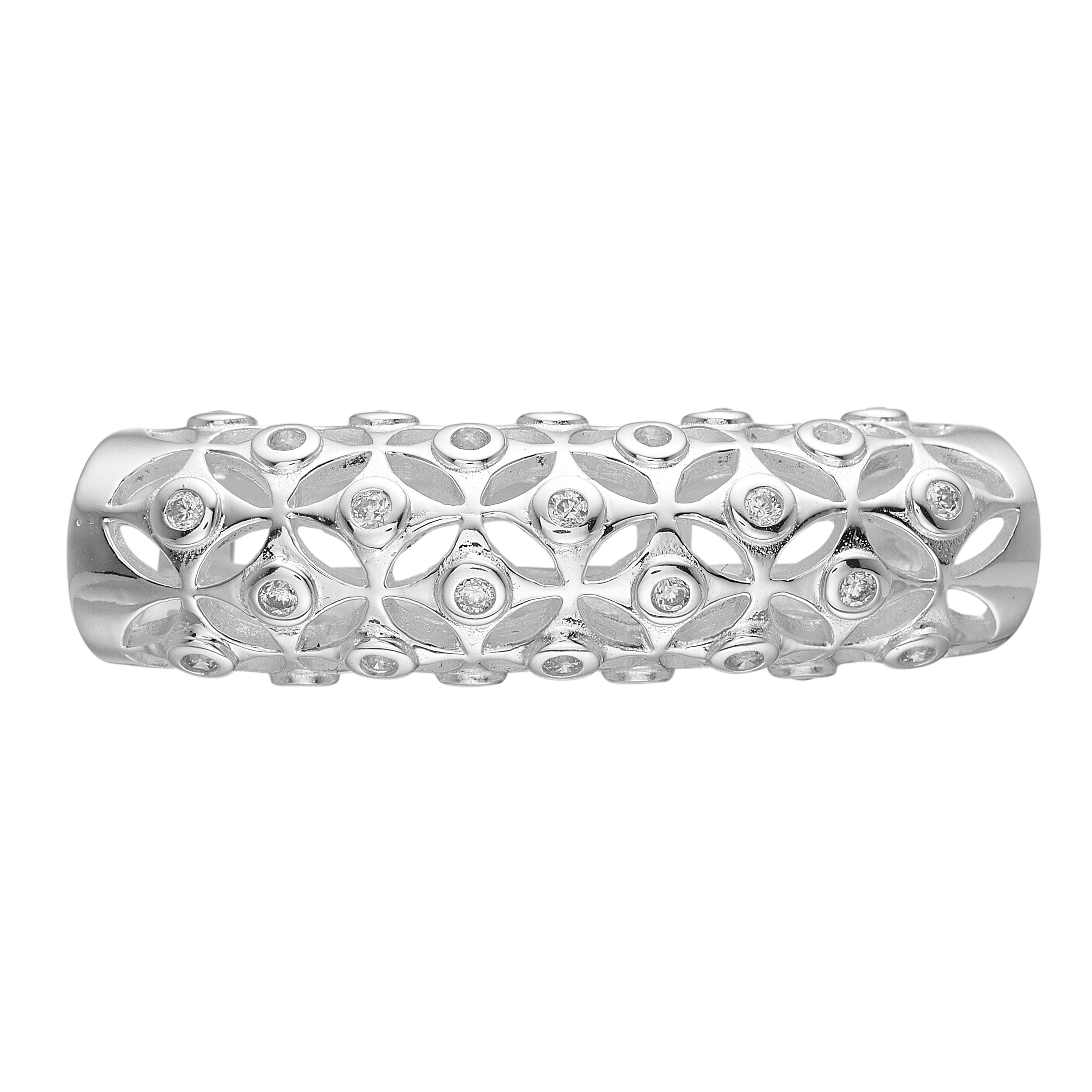 Diamond cut tube