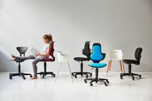 Flexa Office chair with height adjustable