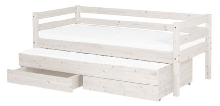 Flexa Classic Trundle Bed with Drawers