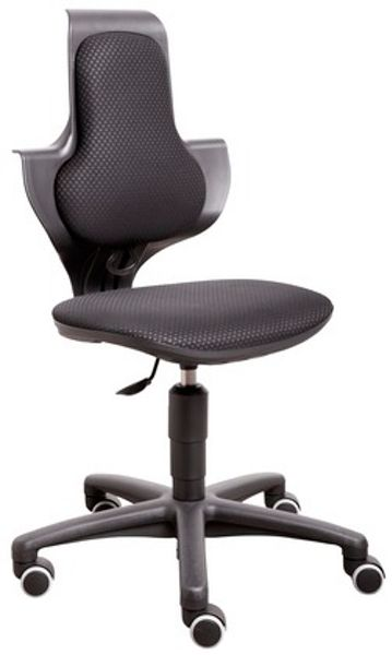 Flexa Study chair, adj. height, castors
