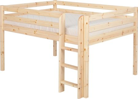 Flexa Classic Pine Mid-High Double Bed