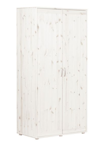 Flexa CLASSIC extra high wardrobe. Whitewash