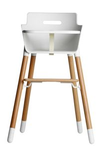 Flexa High Chair birch legs