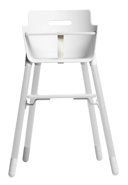 Flexa High chair white legs