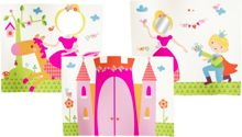 Flexa Princess play curtains. Set of 3
