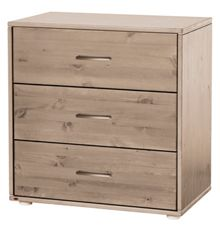 Flexa CLASSIC Chest with 3 drawers