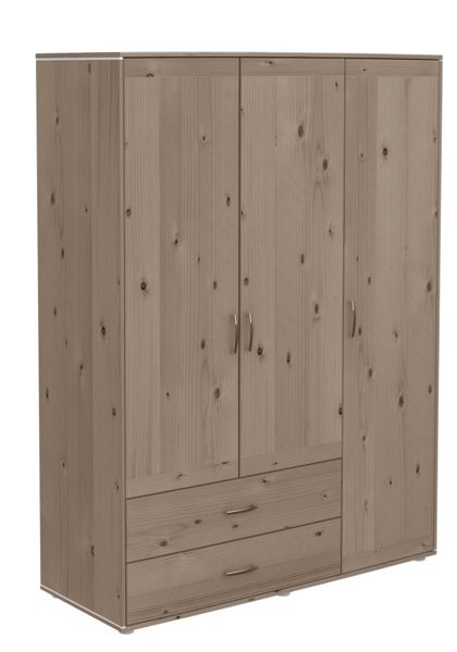 Flexa CLASSIC Extra high wardrobe with 3 doors and 2 dr
