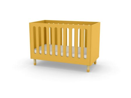 Flexa PLAY Cotbed in Yellow, Ash & MDF