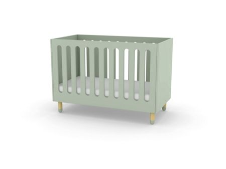Flexa PLAY Cotbed in Green, Ash & MDF