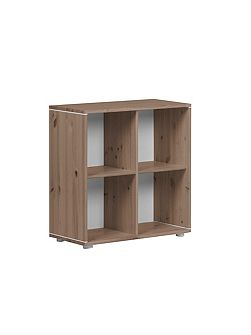 CLASSIC bookcase with 4 compartments. Terra