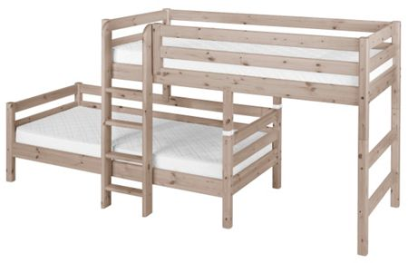 Flexa CLASSIC Corner bunk bed