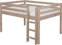 Flexa CLASSIC double mid high bed. Terra