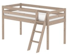 Flexa Classic Mid-High Single Bed with Ladder