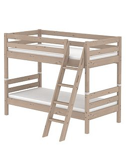 CLASSIC bunk bed with slanted ladder. Terra