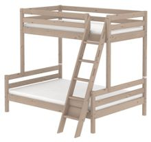 Flexa CLASSIC bunk bed with double under. Terra