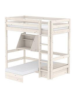 Classic Casa High Bed with Ladder and Desk