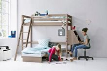 Flexa CLASSIC Casa with slanted ladder with Desk and Sl