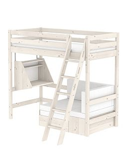 Classic Casa Bed with Ladder and Desk