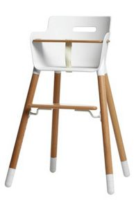 Flexa NURSERY High chair, straps and t bar