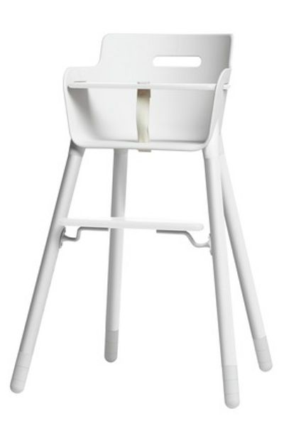 Flexa Nursery High Chair with Straps and T-Bar