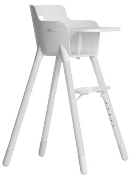 Flexa Nursery High Chair with Table