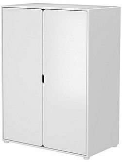 CABBY low wardrobe, 4 shelves, 1 rail