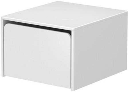 Flexa CABBY storage unit, 1 box on castors