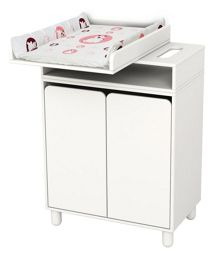 Flexa Changing table with 1 shelf & 2 doors