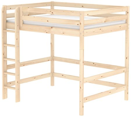 Flexa Classic Pine High Double Bed