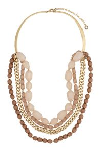 Pilgrim Gold Color Necklace