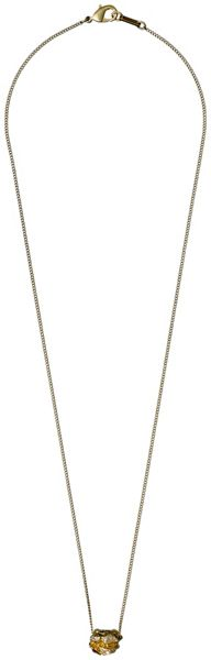 Pilgrim Gold plated 50cm necklace