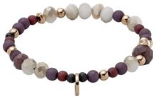 Pilgrim Brown and rose gold colour bracelet