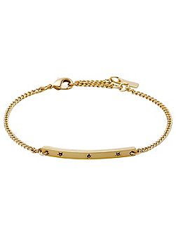 Gold colour with grey bracelet