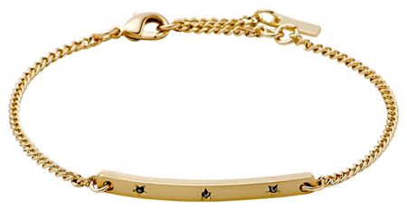 Pilgrim Gold colour with grey bracelet