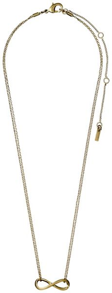 Pilgrim Gold plated 38 + 9 cm necklace