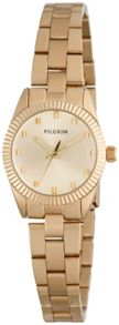 Pilgrim Gold plated watch