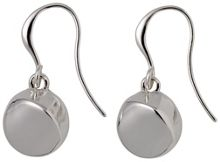 Pilgrim Silver Plated Dangle Earrings