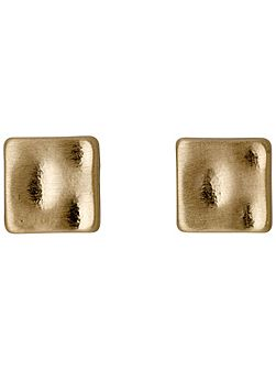 Really fine gold plated stud earrings