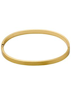 Simple gold-plated bracelet