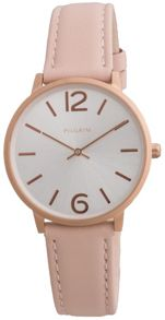 Pilgrim Feminine rose gold and pale pink watch