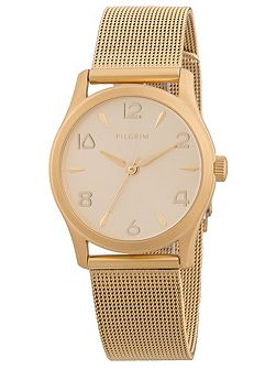 Elegant gold plated must-have watch