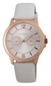 Pilgrim Pretty and delicate rose gold watch