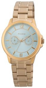 Pilgrim Beautiful gold plated watch