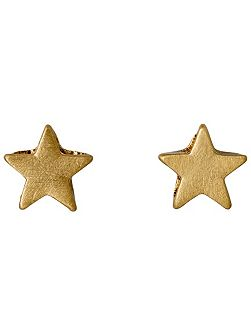 The finest gold plated stud earrings
