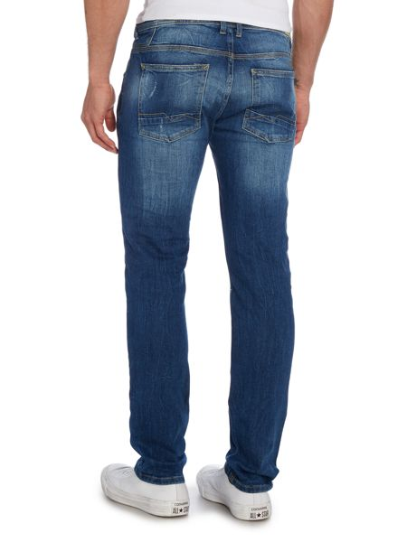 Blend Medium Wash Low Rise Jeans