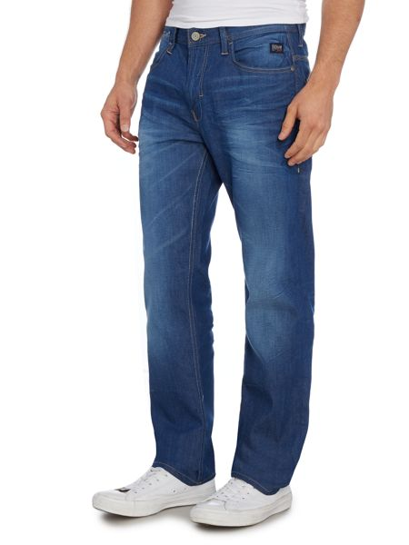 Blend Medium Wash Mid Rise Jeans