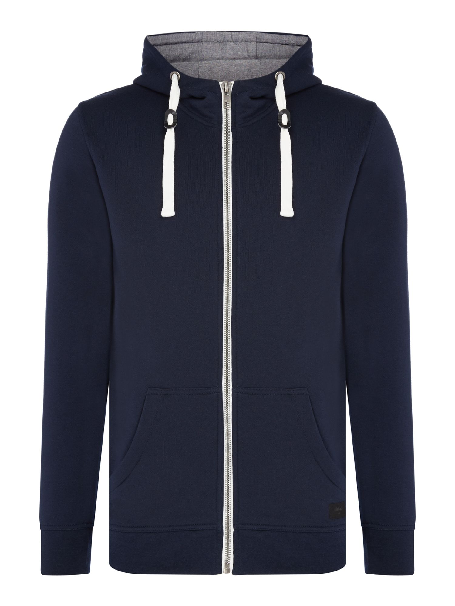 Men's Minimum Hooded Jumper, Blue