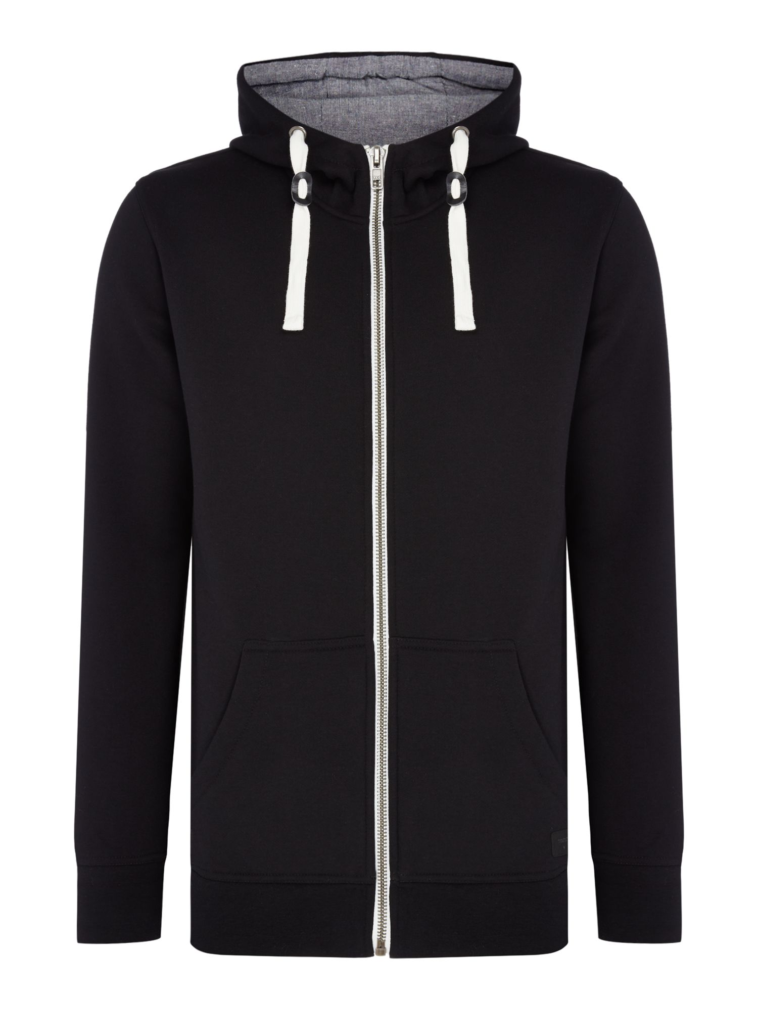 Men's Minimum Hooded Jumper, Black