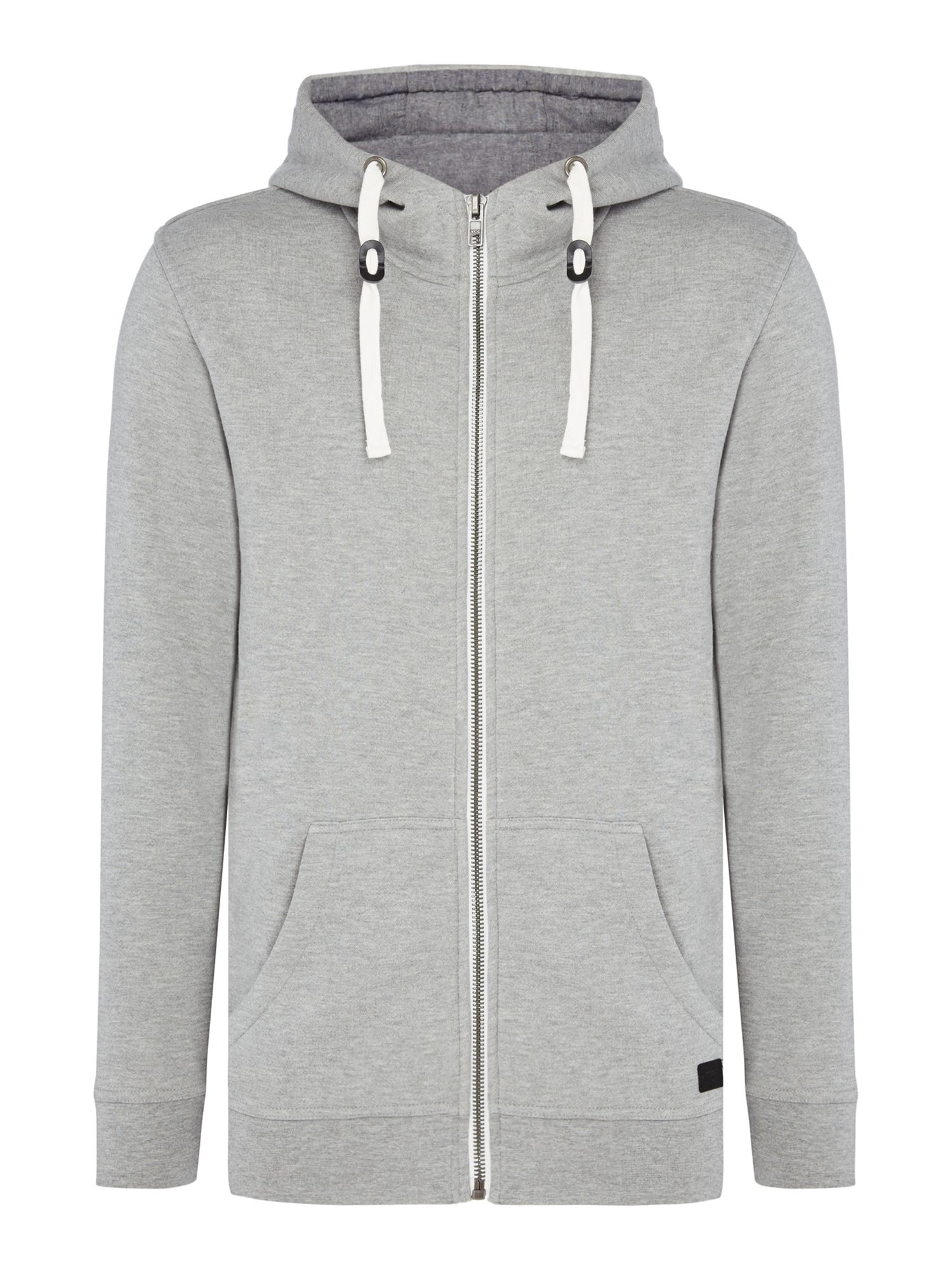 Men's Minimum Hooded Jumper, Grey