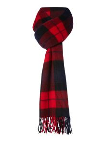 Minimum Wool Check Scarf